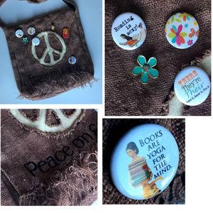 Peace on Earth Cool Crossbody Bag